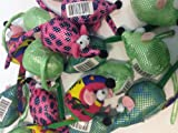 CAT KITTEN TOY CRAZY MICE WITH PREMIUM CATNIP MIXED COLOURS