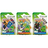 Leap Frog Imagicard Learning Game Bundle: Paw Patrol, Teenage Mutant Ninja Turtles & Letter Factory