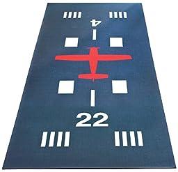 Airport Runway Hallway Runner Mat