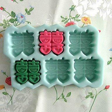 Wedding Letter Silicone Fondant Cake Mold