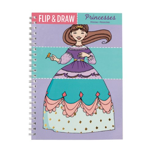 Mudpuppy Princesses Flip and Draw