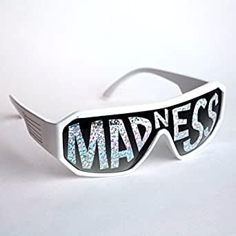 Macho Man White Madness Sunglasses Randy Savage Costume Wrestler Wrestling Party