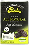 Panda All Natural Soft Licorice 7 oz Pkg