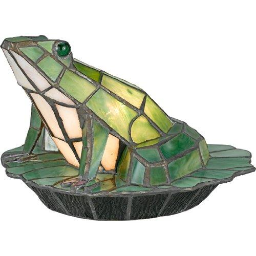 Quoizel TFX837Y Tiffany Green Frog Tiffany Accent Figure
