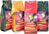 Flavored Coffee of the Month Club, Hawaiian Coffee Blend, 6 Flavors for 6 Months, Ground Coffee, Free Shipping, Gift for Christmas, All Occasion