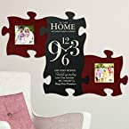 3-Piece This Home Clock Puzzle Piece Set