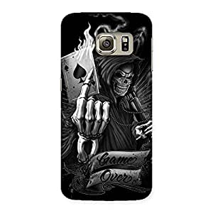 Special Game Over Back Case Cover for Samsung Galaxy S6 Edge