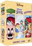 echange, troc Mickey, il était deux fois Noël + Winnie l'ourson - Joyeux Noël + Tibère et la maison bleue - Joyeux Noël avec Tibère