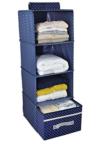 à suspendre Vêtements Boîte de rangement avec tiroir