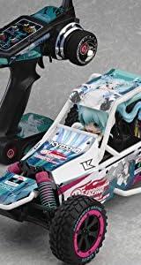 サンドマスター レーシングミク 2014バージョン (1/10スケール 電動ラジオコントロール 2WDバギー EZシリーズ レディセット)