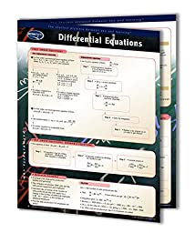 Differential Equations - Math Quick Reference Guide by Permacharts