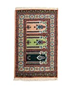 Navaei & Co. Alfombra Kashmir Marrón/Multicolor 102 x 61 cm