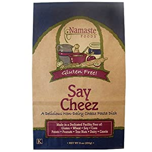 Namaste Foods, Gluten Free Say Cheez Pasta Dish, 9-Ounce Bags (Pack of 6) by Namaste Foods