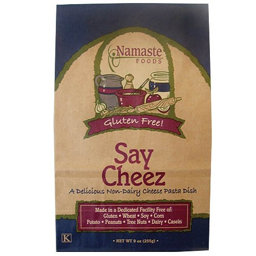 Namaste Foods, Gluten Free Say Cheez Pasta Dish, 9-Ounce Bags (Pack of 6)