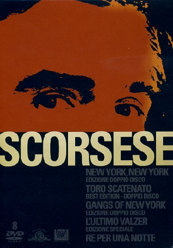 Scorsese - New Yok, New York + Toro scatenato + Gangs of New York + L'ultimo valzer + Re per una notte [8 DVDs] [IT Import]