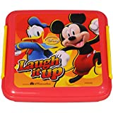 Disney Mickey Lunch Box, 330ml, Orange/Yellow