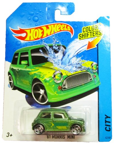 Hot Wheels - 2014 Color Shifters - City 42/48 - '61 Morris Mini