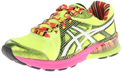 ASICS Women's Gel-Preleus Running Shoe,Flash Yellow/White/Black,6 M US