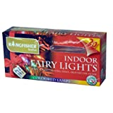 20 Bulbs - Indoor Fairy Lights - Coloured Bulbs