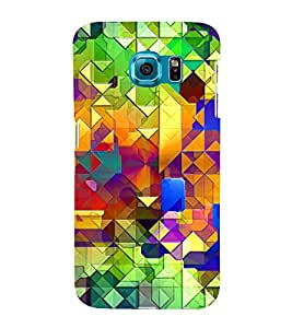 Bright Colourful Pattern 3D Hard Polycarbonate Designer Back Case Cover for Samsung Galaxy S6 Edge+ :: Samsung Galaxy S6 Edge Plus :: Samsung Galaxy S6 Edge+ G928G :: Samsung Galaxy S6 Edge+ G928F G928T G928A G928I