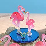 Unison Gifts CR-3058 4 H In. Double Flamingos