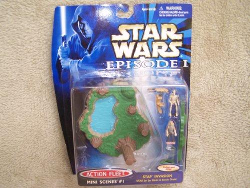 Star Was Episode I - Action Fleet Mini Scenes #1 Stap Invasion