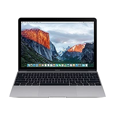 Apple MacBook MLH82HN/A 12-inch Laptop (Core m5/8GB/512GB/OS X El Capitan/Integrated Graphics), Space Grey