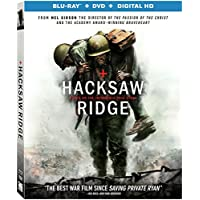 Hacksaw Ridge on Blu-ray + DVD + Digital