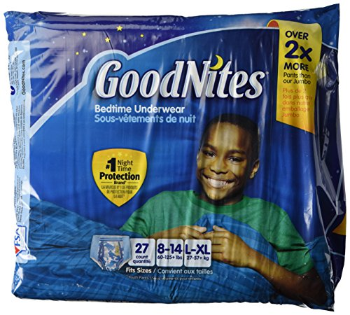 Goodnites Underwear - Boy - Large/X-Large - 27 ct - 1