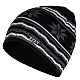 Today Sale  Fila Mauro Knitted Nordic Beanie Hat - Black