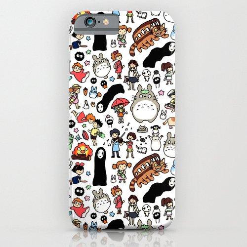 Society6(ソサエティシックス) iPhone6(4.7インチ)ケース Kawaii Ghibli Doodle