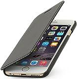 """StilGut Book Type Case ohne Clip, Hülle aus Leder für Apple iPhone 6 (4.7""""), schwarz nappa"""