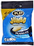 Kp Jumbo Salt and Vinegar Peanuts 75 G (Pack of 18)