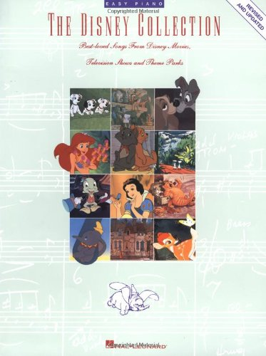 The Disney Collection (Easy Piano Series)