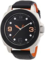 BOSS ORANGE Black Leather Mens Watch 1512669