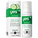 YES to Cucumbers Soothing Daily Calming Facial Moisturizer (50ml, Normal to Dry Skin Paraben Free)