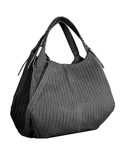 DEEP ROSE Borsa in Vera Pelle Donna Made in Italy a spalla mano shopper pelle BAG MODELLO EDI borsa da giorno capiente