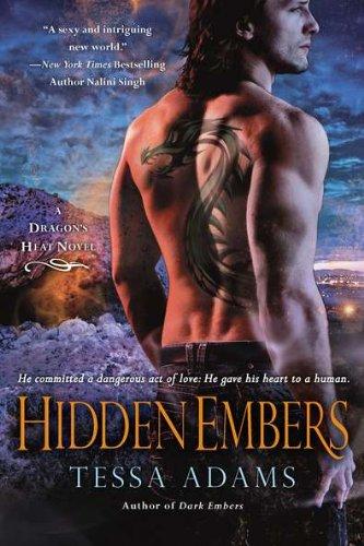 Image of Hidden Embers: A Dragon's Heat Novel