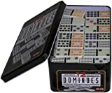 weiblespiele 250103 - Domino Doppel 12 in Metalldose