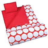 Wildkin Big Dot Red & White Original Sleeping Bag - One Size