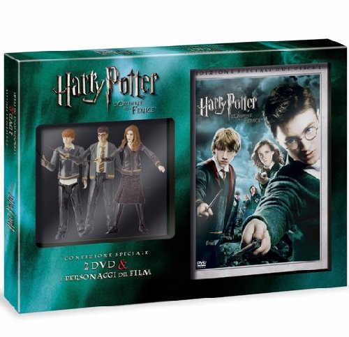 Harry Potter E L'Ordine Della Fenice (Limited) (2 Dvd+3 Action Figures)