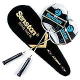Senston Carbon Badminton Set,Badminton Schläger.Inklusive 2...