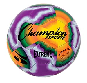 Buy Champion Sports Extreme Tie Dye Soccer Ball by Champion Sports