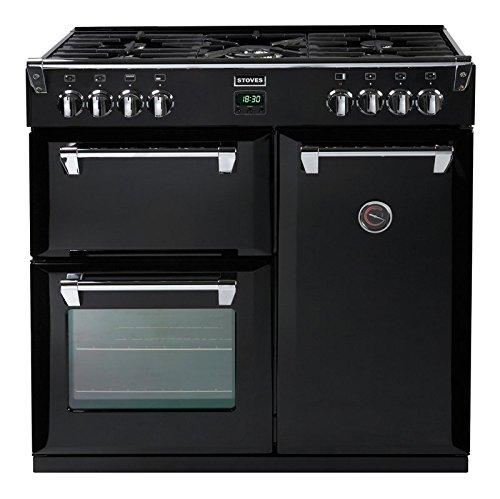 Stoves Richmond 900GT 90cm Gas Range Cooker Black