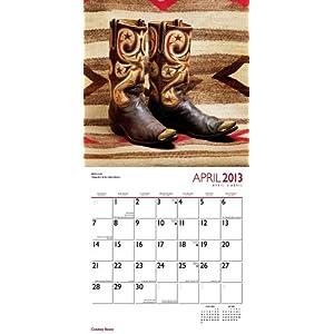 Cowboy Boots 2013 - Cowboystiefel - Original BrownTrout-Kalender
