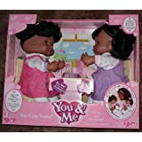 Too Cute Twins Doll You & Me Interactive African American