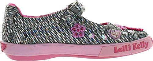 Lelli Kelly Girls Lk8124 Canvas Glitter Fashion Flats Shoes kiniki kelly tanga mens