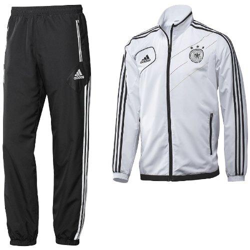 X37494|Adidas DFB Presentation Suit White|4