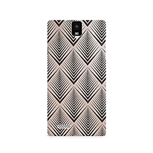 TAZindia Printed Hard Back Case Cover For Infocus M330