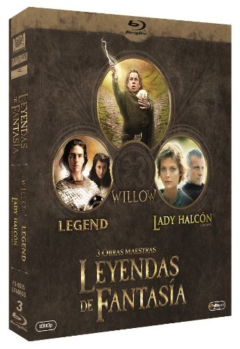 Pack Leyendas De Fantasía: Willow + Legend + Lady Halcón [Blu-ray]